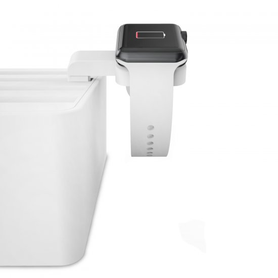 ALLDOCK Apple Watch Mount Weiß