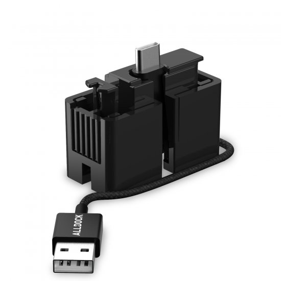 ALLDOCK Click-Adapter USB-C
